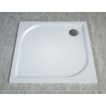 WAQ 1000 04 SanSwiss Sprchová vanička čtvercová 100×100 cm - bílá