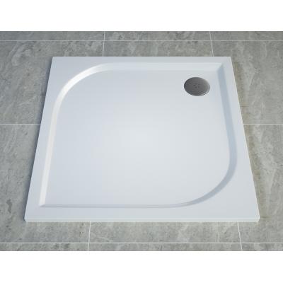 WAQ 0900 04 SanSwiss Sprchová vanička čtvercová 90×90 cm - bílá