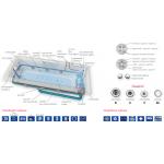 Hydromasážní vanový systém DUO LIGHT AURIGA L
