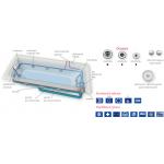 Hydromasážní vanový systém EASY STL NERA 170P
