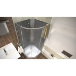 MARTY 90 Well Sprchový box se sedátkem + vaničkový sifon ZDARMA