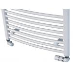 NR-03-600.0764-44-01 PRIMO RONDO-N Neriet Koupelnový žebřík (radiátor) - bílý