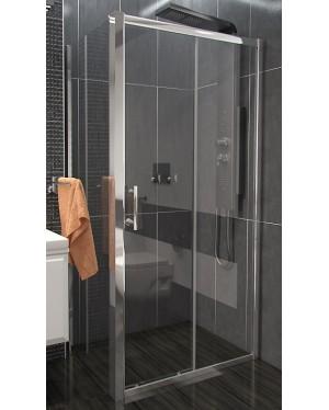 NICOL COMBI 100x90 čiré Well sprchová zástěna obdélníková