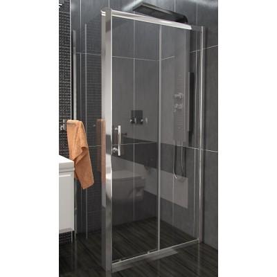 NICOL COMBI 140x100 čiré Well sprchová zástěna obdélníková