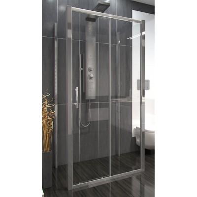 NICOL COMBI II 90x140x90 Clear Well Sprchový kout nástěnný