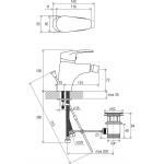 RAVAK NEO NO 055.00 Bidetová baterie