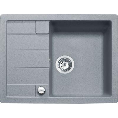 00088945 ASTRAL 45 B-TG Dřez tegranit - hliníkově šedá