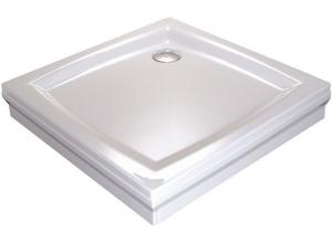 RAVAK PERSEUS 90 PP Sprchová vanička čtvercová 90 cm - bílá