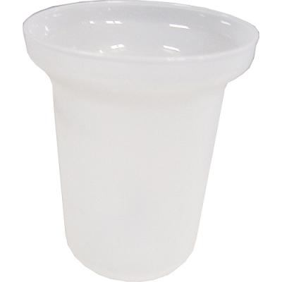 103P Nádobka na štětku WC - pískovanýplast(203P)