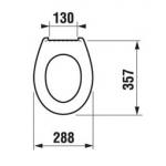8.9703.7.300.000.1 Jika BABY WC sedátko bez poklopu - bílé