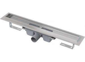 APZ7-FLOOR AlcaPlast Liniový podlahový žlab na vložení dlažby