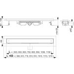 APZ107-FLOOR-950 Liniový podlahový žlab LOW na vložení dlažby