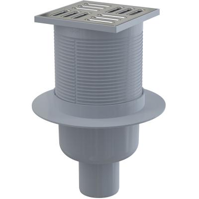 APV32 Podlahová vpusť přímá nerez 105×105/50