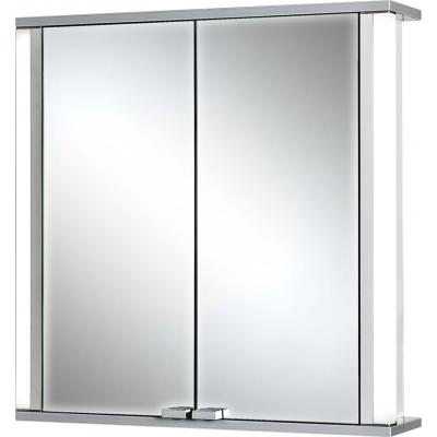 MARNO Zrcadlová skříňka - bílá, hrany aluminium/barva