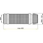 M9006 Koleno odpadu 90/110 flexi