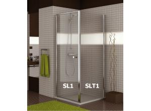 SLT1 0800 50 07 SanSwiss Boční stěna sprchová 80 cm