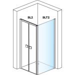 SLT2 0900 50 07 SanSwiss Boční stěna sprchová 90 cm