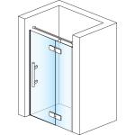 PU13PD 1000 10 07 SanSwiss Sprchové dveře jednodílné 100 cm pravé