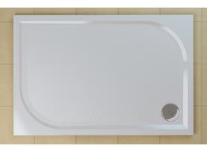 WMA 80 120 04 SanSwiss Sprchová vanička obdélníková 80×120 cm - bílá