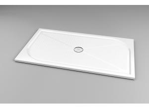 WMA 80 140 04 SanSwiss Sprchová vanička obdélníková 80×140 cm - bílá