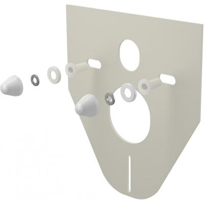M910 AlcaPlast Izolační deska pro závěsné WC a bidet s příslušenstvím a krytkou