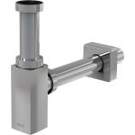A401 Sifon pro umyvadlo DESING hranatý kovový
