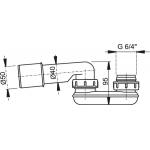 A53/50 Zápachová uzávěra  pr.50mm