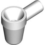 AKS1 Nálevka se sifonem pro odkapávající kondenzát bílá