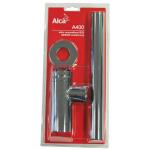 A400 AlcaPlast Sifon pro umyvadlo DESING kovový