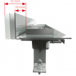 APZ104-850 Liniový podlahový žlab FLEXIBLE LOW pod libovolný obklad