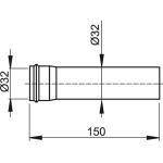 A4000 Prodlužovací kus 150 mm