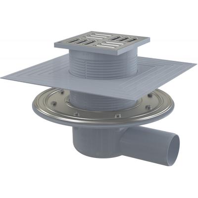 APV1324 Podlahová vpusť boční PROFI 100×100