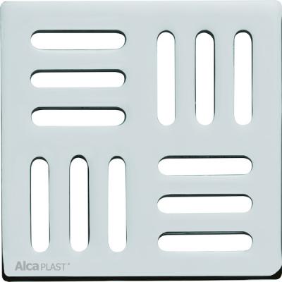 MPV004 Designová mřížka nerez 102×102