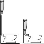 A94 AlcaPlast Univerzální WC nádržka START/STOP