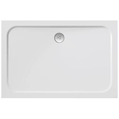 RAVAK GIGANT PRO 80×110 CHROME Sprchová vanička obdelníková - bílá