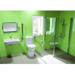 Jika OLYMP 8.2361.8.000.000.1 WC kombi mísa zvýšená 46 cm, zadní - hluboké splachování