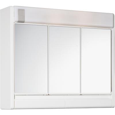 RUBÍN 60 x 51 Jokey Zrcadlová skříňka se žárovkou 2x40W - bílá