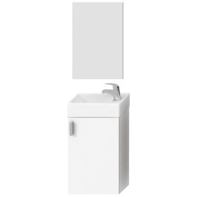 4.5351.4.175.300.1 PETIT Skříňka s umývátkem 40 cm, včetně zrcadla a osvětlení