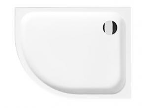 Jika TIGO H8522116000001 Sprchová vanička keramická 100×80 cm pravá
