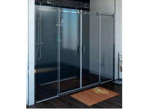 DRAGON GD4870 Gelco Sprchové dveře čtyřdílné posuvné - sklo čiré