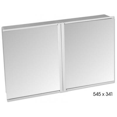 640105 Zrcadlová skříňka dvoudílná