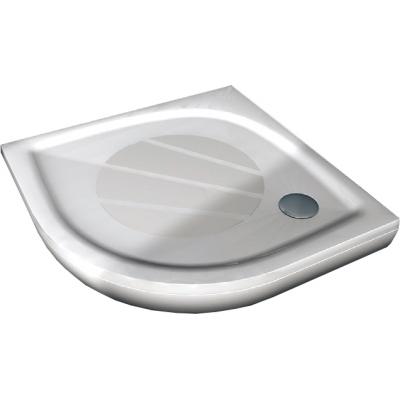 RAVAK ELIPSO PRO 100 Sprchová vanička čtvrtkruhová 100 cm - bílá