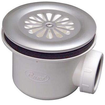 BASIC 90 RAVAK Sifon pro sprchovou vaničku 90 mm - chrom