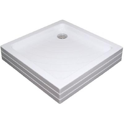 RAVAK ANGELA 80 PU Sprchová vanička čtvercová 80 cm - bílá
