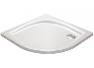 RAVAK ELIPSO 100 LA Sprchová vanička čtvrtkruhová 100 cm - bílá