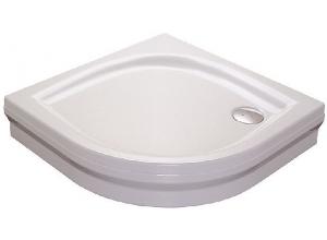 RAVAK ELIPSO 90 PAN Sprchová vanička čtvrtkruhová 90 cm - bílá