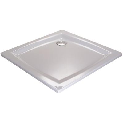 RAVAK PERSEUS 90 LA Sprchová vanička čtvercová 90 cm - bílá