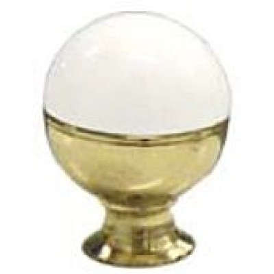 4605150.01 ROTAN R05 Úchyt pro koupelnový nábytek - bílá/zlatá