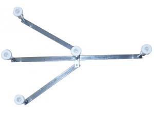 Nožičky pro vaničku TEIKO kovové