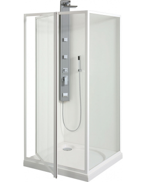 SDK 80 SKLO Sprchové dveře otočné